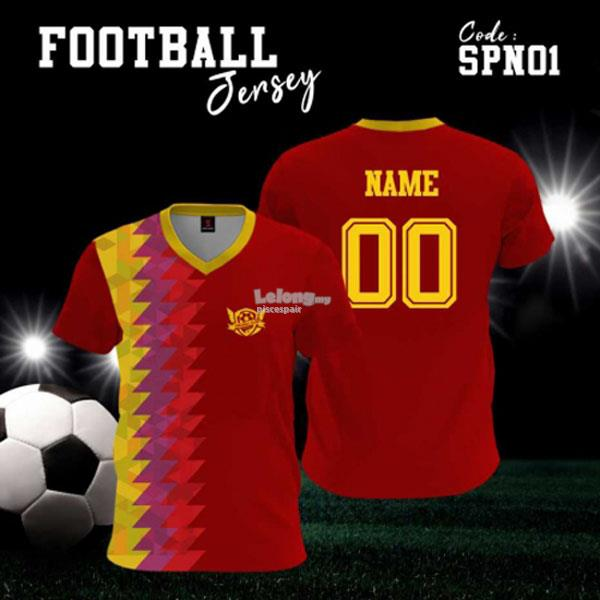 Personalized Famous Football Team Jersey (12pcs/team)