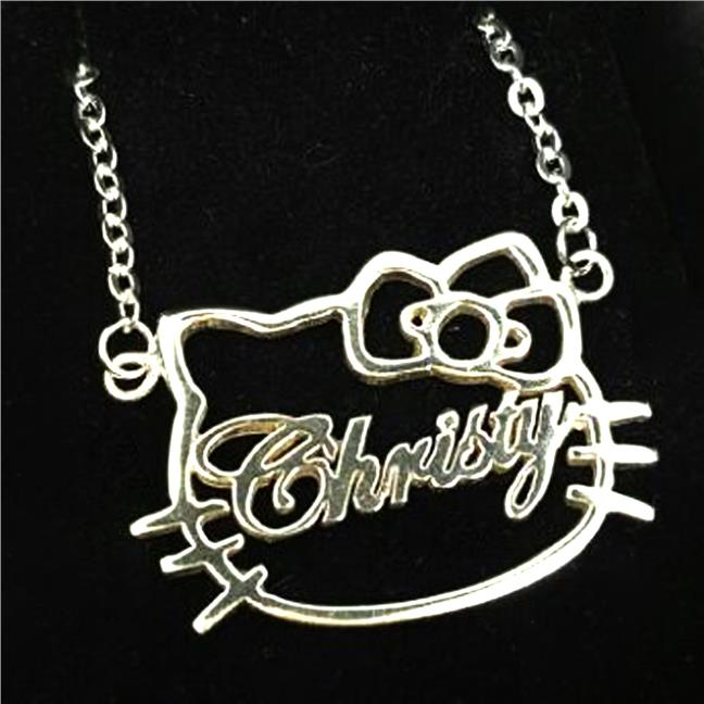 Personalized name hello kitty neckla end 6282017 215 pm personalized name hello kitty necklace choker mozeypictures Image collections