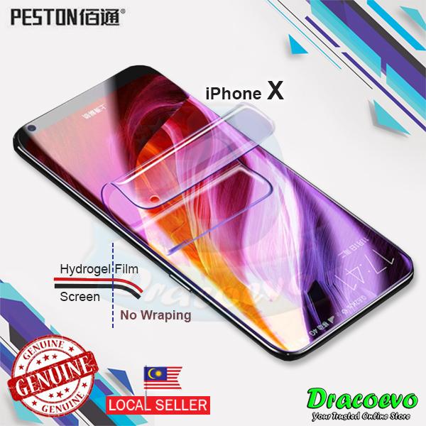 newest 71b90 b6163 Peston Hydrogel Screen Protector Full 3D For iPhone 6 / 7 / 8 Plus X