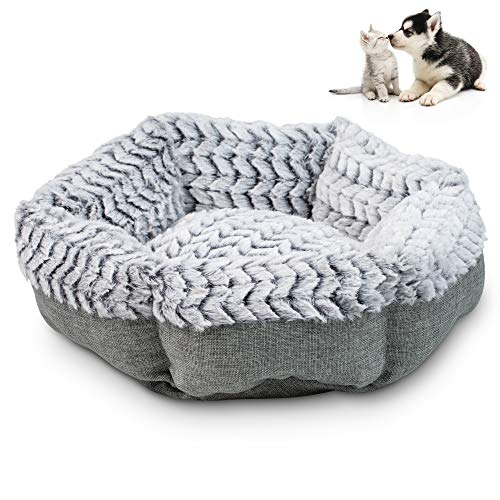 Pet Craft Supply Co. Soho Round Machine Washable Memory Foam Comfortable Ultra