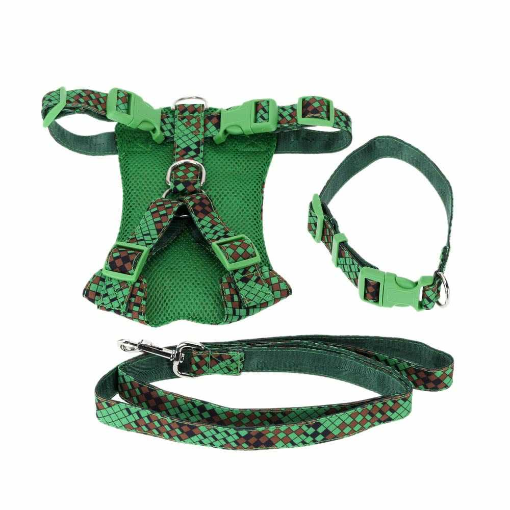 Pet Dog Harness Set Large  & Medium Sized Dog Running Leash Dog