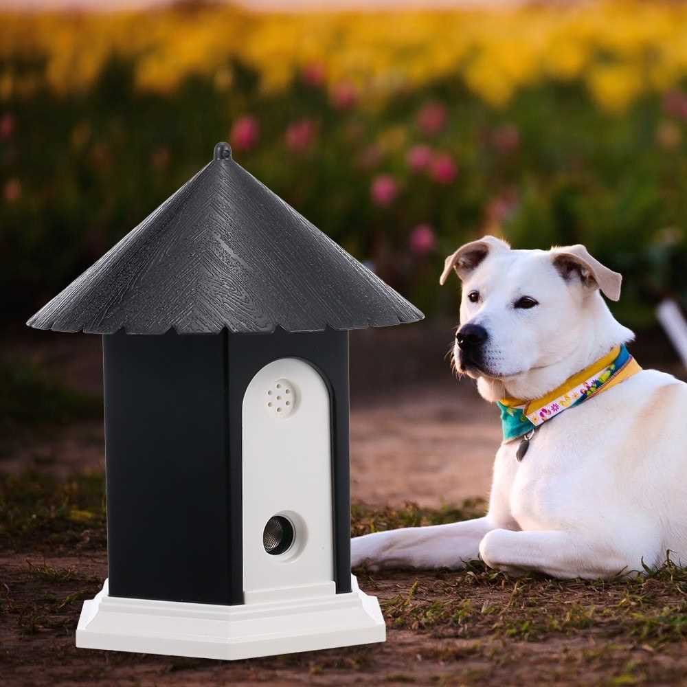 Pet Dog Outdoor Bark Control Ultrasonic Sound Stop Barking Device
