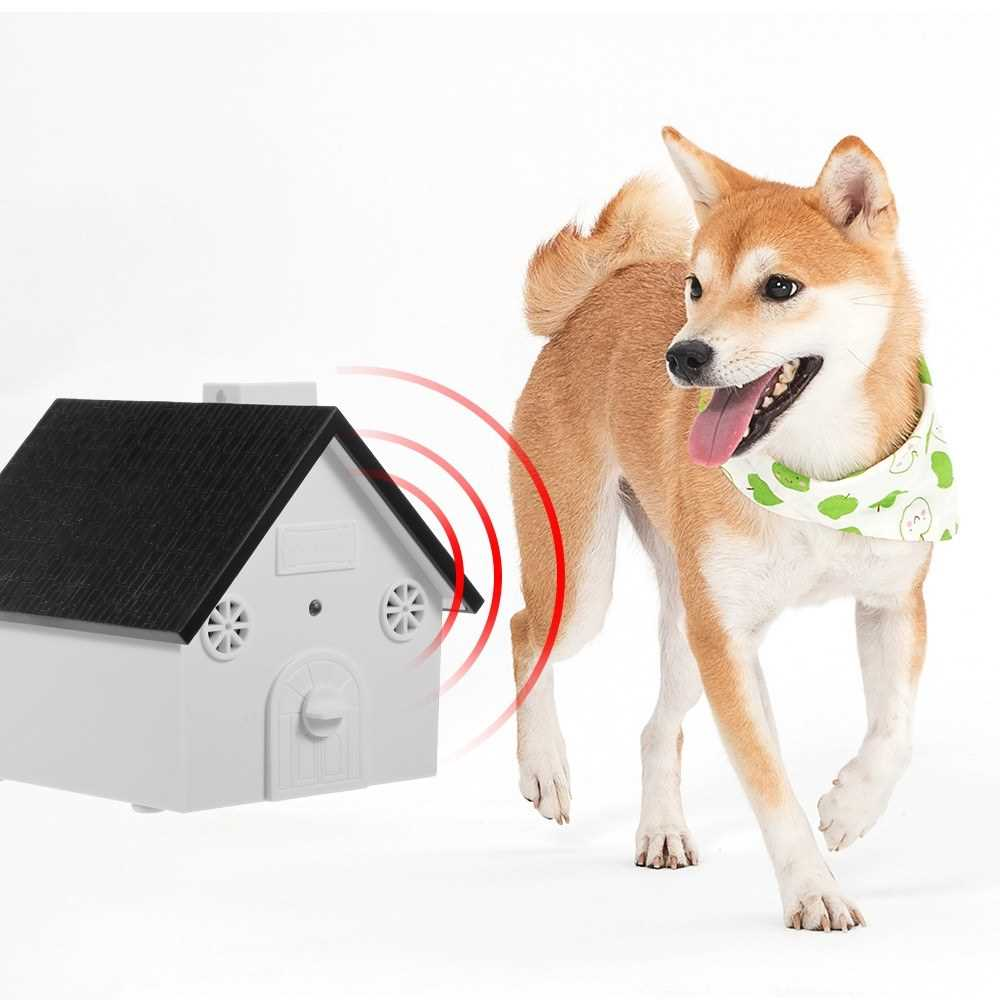 Pet Dog Safe Outdoor Bark Control Ultrasonic Sound Anti Barking
