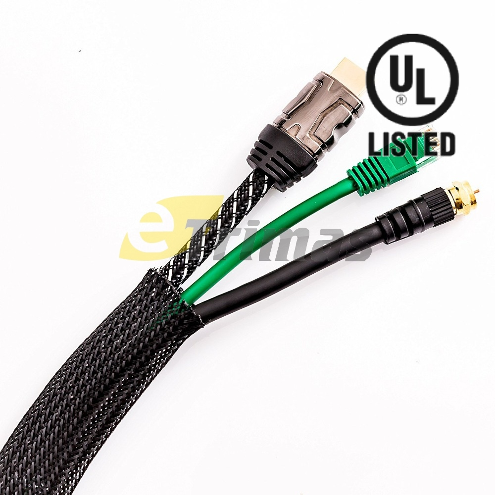 PET Expandable Braided Cable Sleevin (end 10/4/2020 8:17 PM)