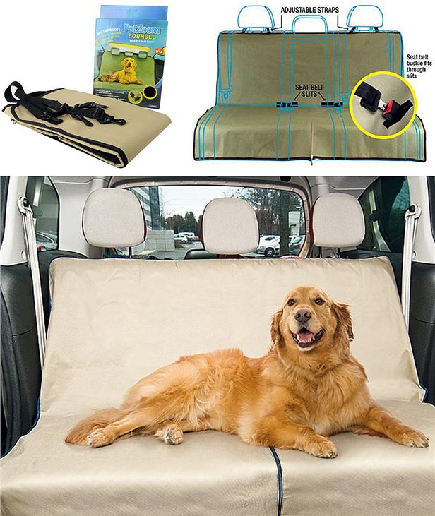 Pet Zoom Loungee Auto Pet Car Seat Cover