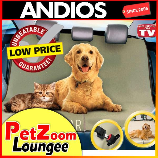 Pet Zoom Loungee Auto Pet Seat Cover Vehicle Car Van Sarung Kusyen