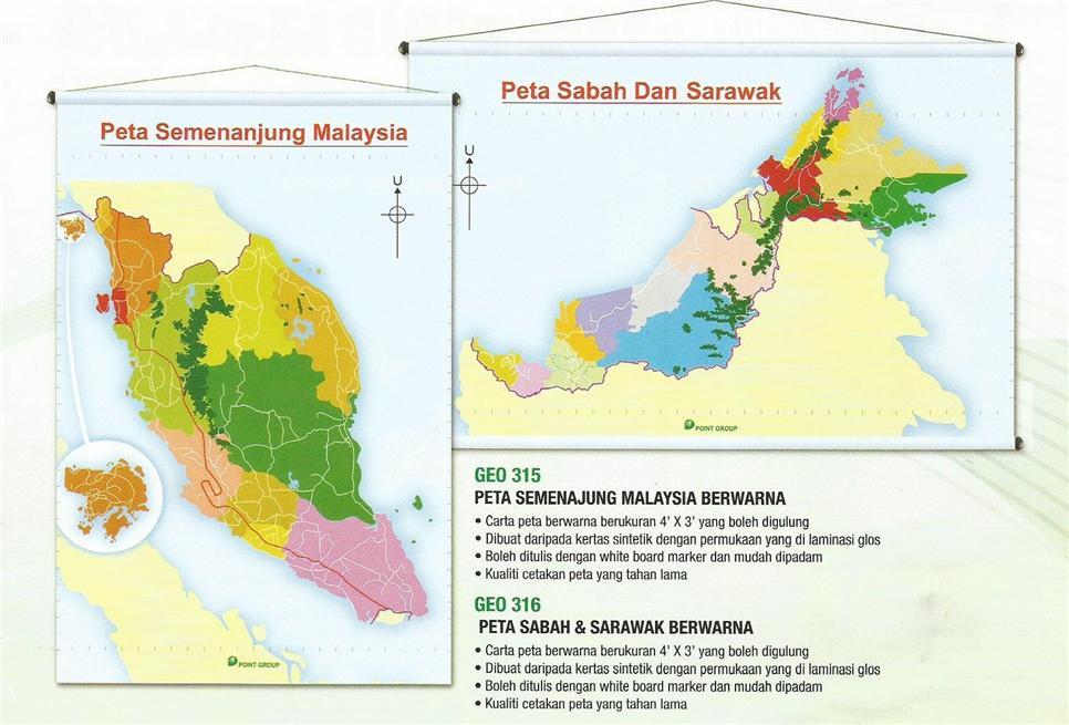 Peta Berwarna Semenanjung Malaysia End 5 20 2018 9 41 Am