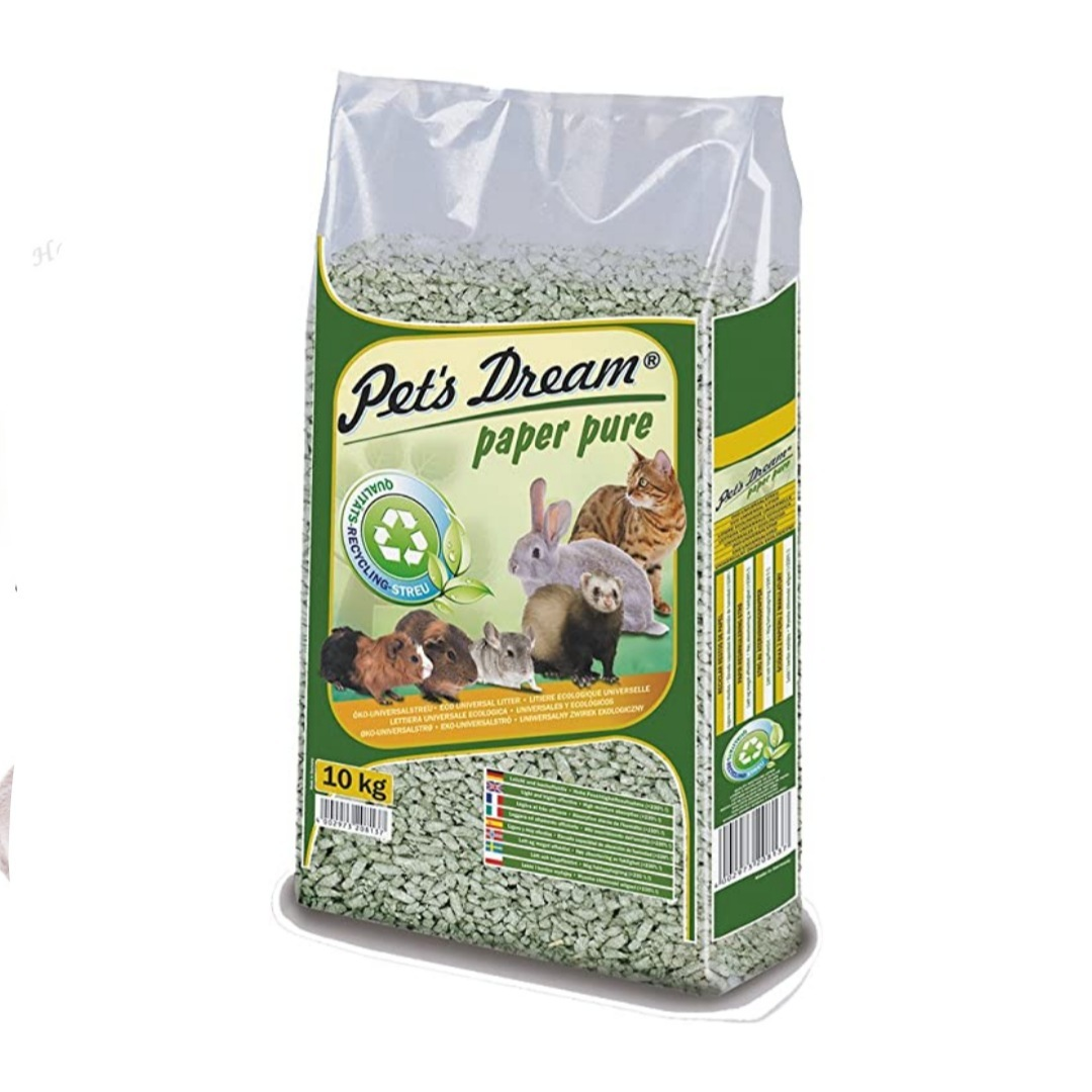 Pets Dream Universal Pet Litter Paper Pure