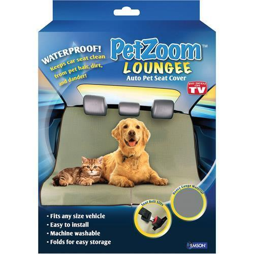PetZoom Loungee Pet Seat Cover for Car