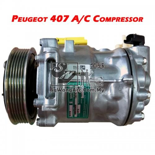 Peugeot 407- Car Air Cond Compressor (Sanden)