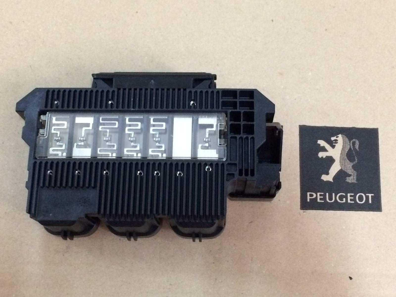 peugeot 407 - fuse box  ‹ ›