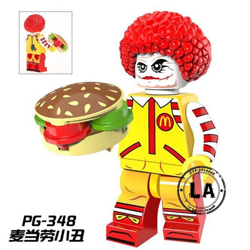 6b053c21324 PG-348 Ronald McDonald with Joker s Face Mini figures Collection