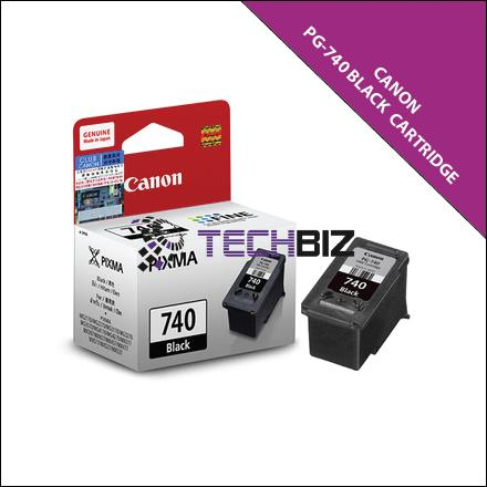 PG-740 BLACK CANON INK CARTRIDGES
