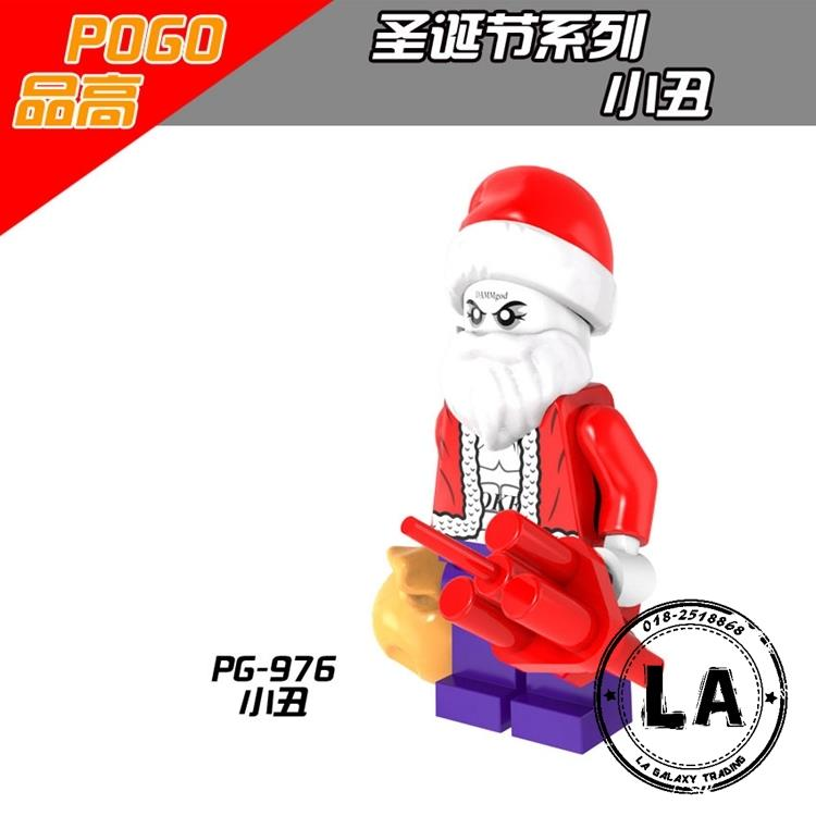 PG976 Christmas Joker Minifigure collection