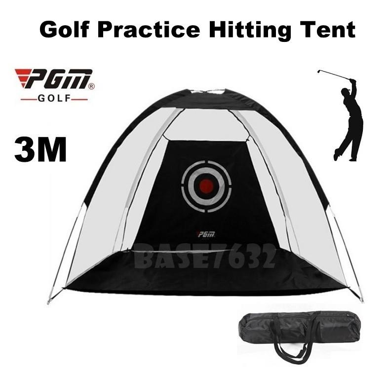 PGM 3M Indoor Golf Practice Training Hitting Tent Net Cage Mat