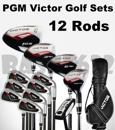 PGM  Victor Golf Full Set Sets 12 Rods MEN Women's Golf Club