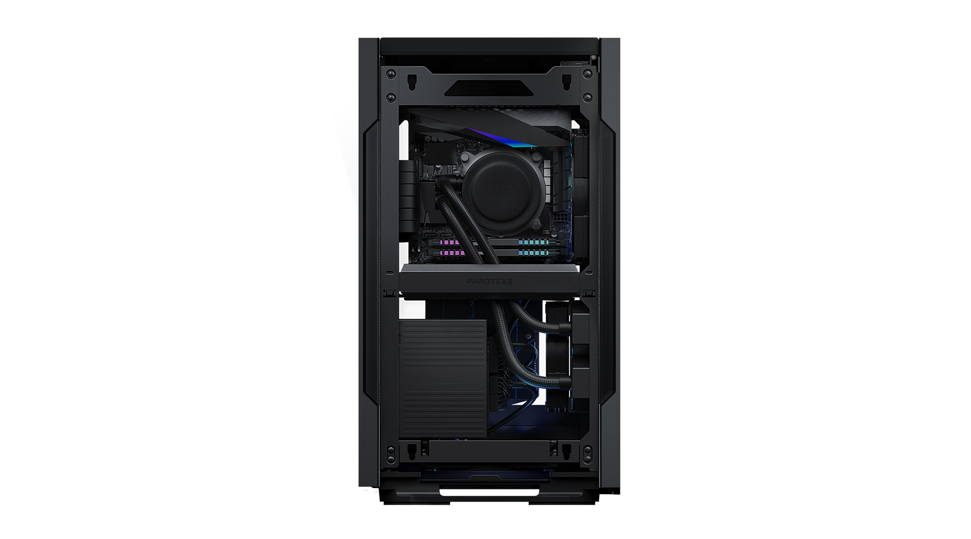 PHANTEKS EVOLV SHIFT 2 TG WINDOWS DRGB ITX CASE BLACK