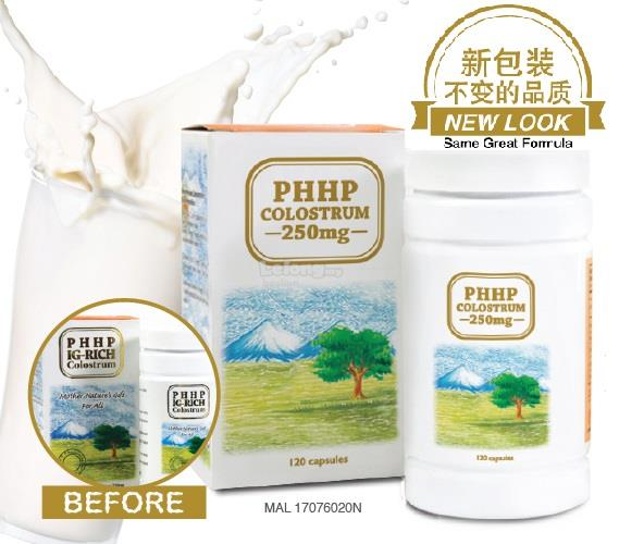 PHHP IG-RICH COLOSTRUM 120 Capsules-Growth & Repair Tissues and Cell