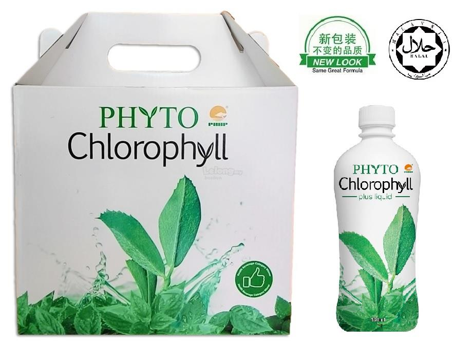 PHHP PHYTO CHLOROPHYLL VALUE PACK 6 BOTTLES X 500ml (Halal)