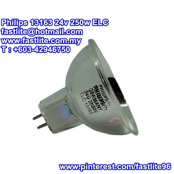 Philips 13163 24v 250w ELC Projector bulb