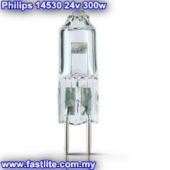 Philips 14530 24v 300W GY6.35 FLW