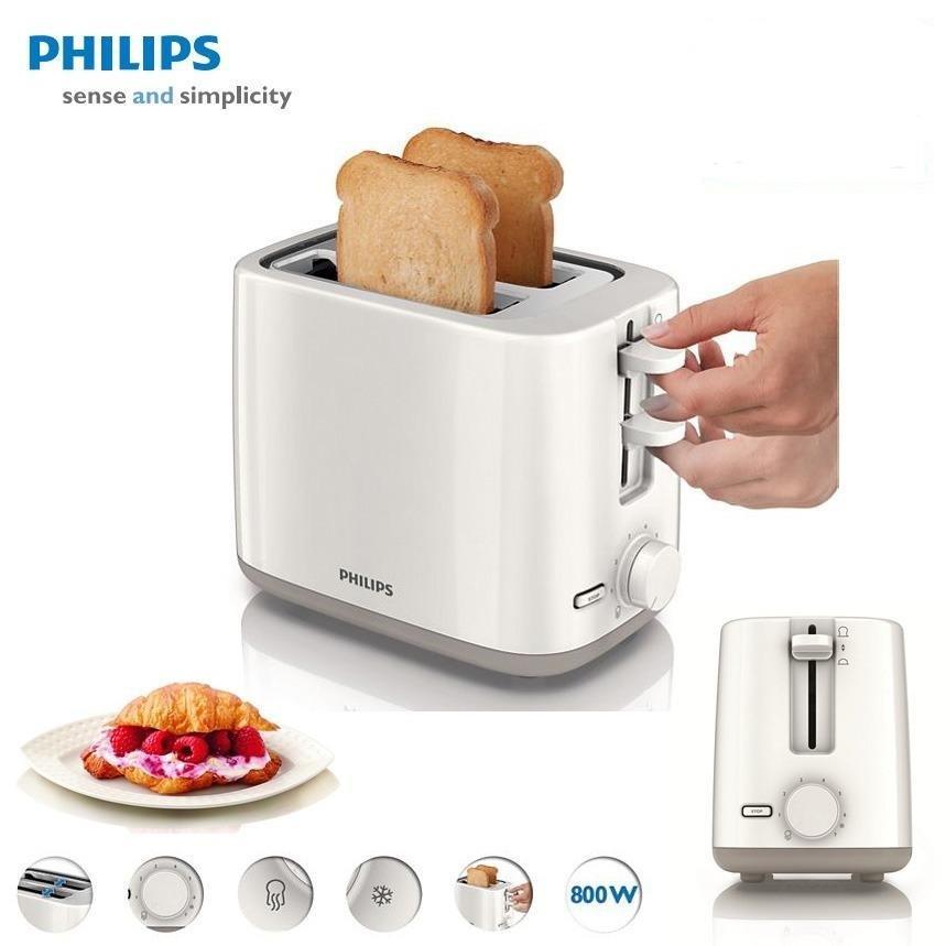 Philips 2 Slice Pop Up Bread Toaster HD2595
