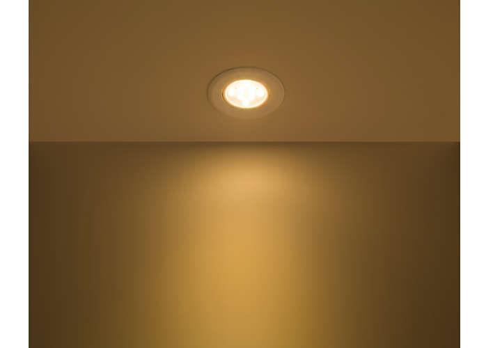 PHILIPS 3W LED EYE BALL SPOT DOWN LIGHT 2700K WARM WHITE