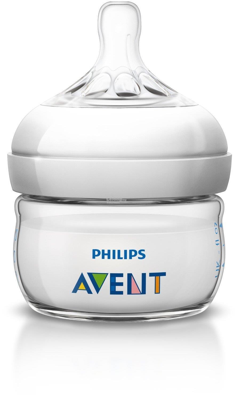 Philips Avent Natural Bottle 2oz 60ml Premature Newborn Botol Susu. ‹ ›