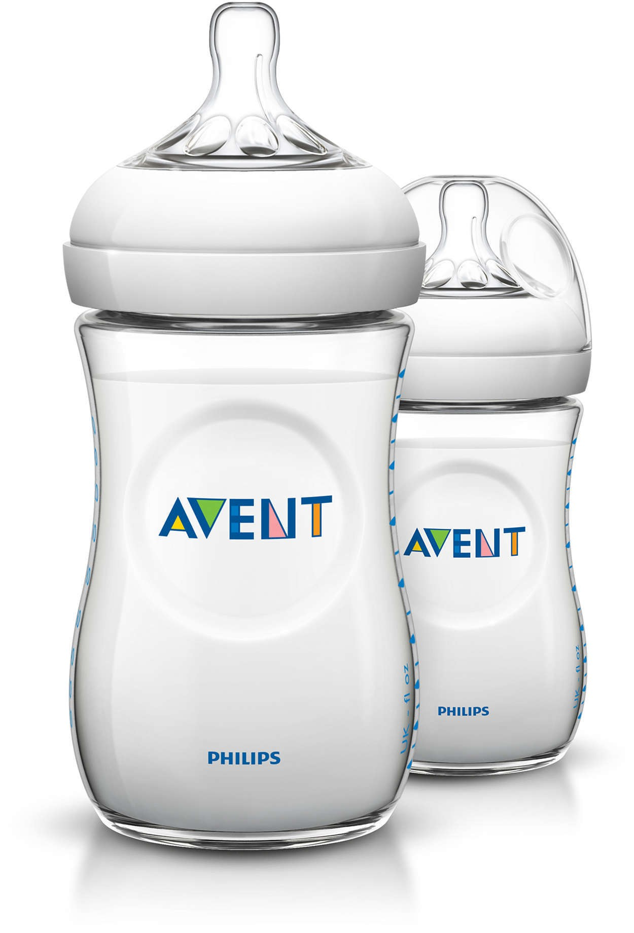 Philips Avent Natural Bottle 9oz / 260ml Twin Pack