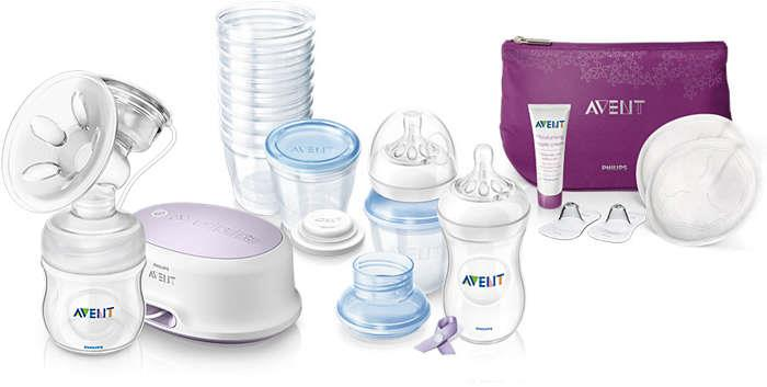 Philips AVENT Single Electric BreastFeeding Solution Set SCD292/00