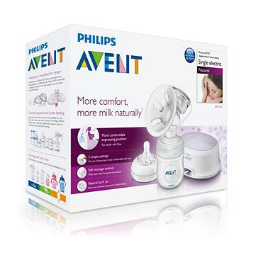Philips AVENT Single Electric BreastPump SCF332/01