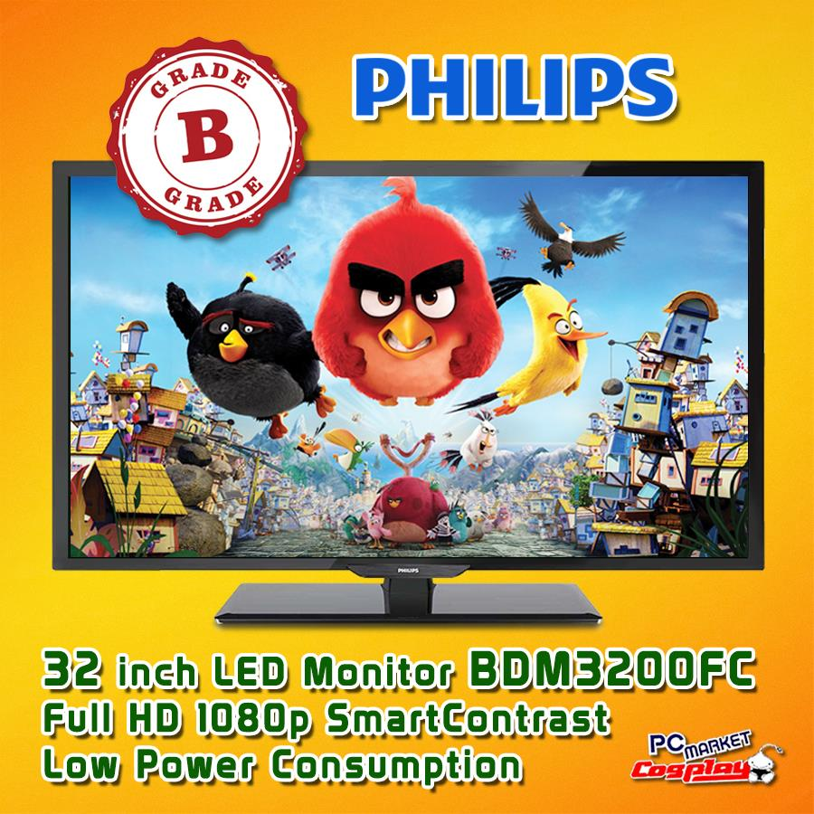 Philips BDM3200FC 32 inch LED-backlit LCD Display Monitor (Grade B)
