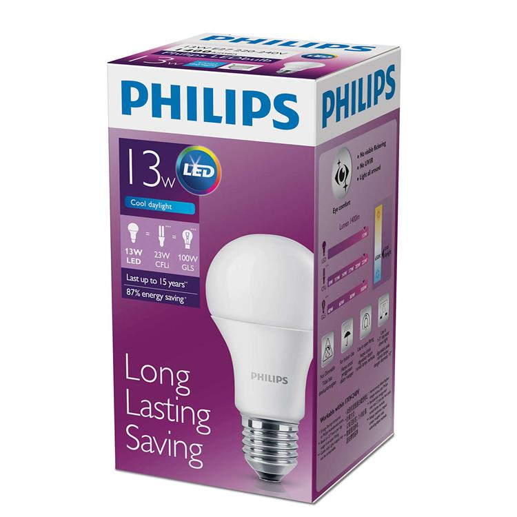 PHILIPS BrightComfort LED Bulb 13W (White/Warm White)