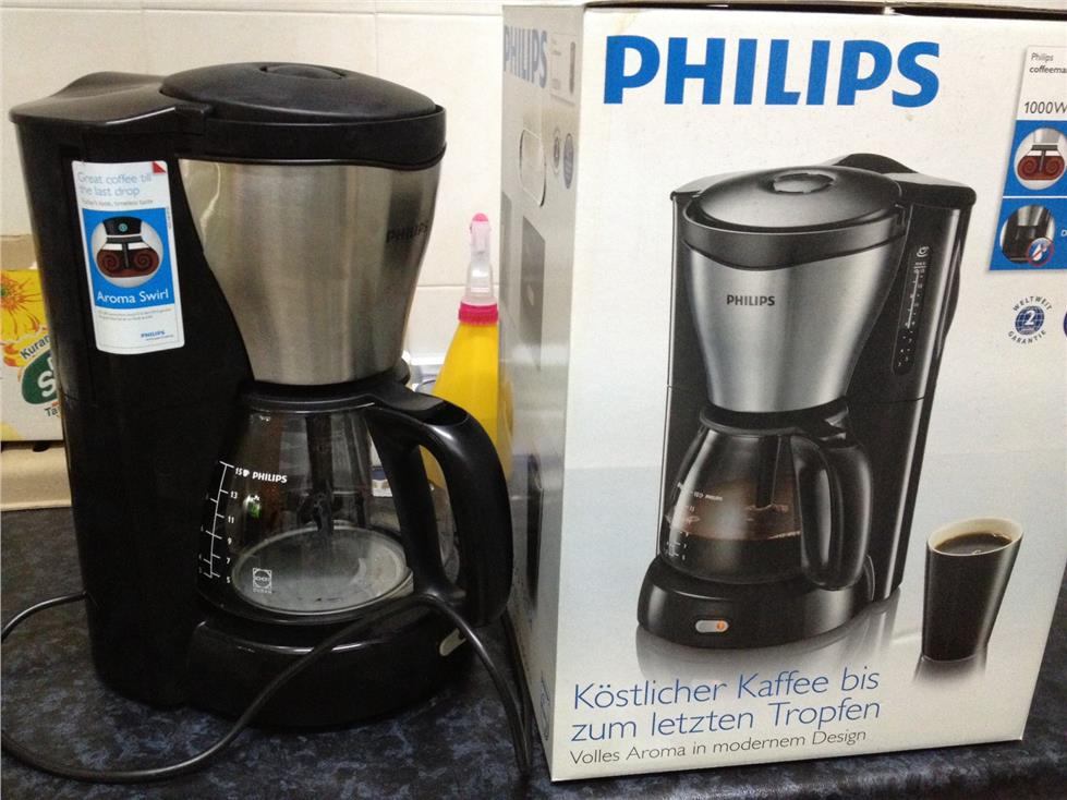 Philips Coffee Maker Hd 7546/20 : Philips Coffee Maker HD7564 (end 2/12/2015 2:15 PM)