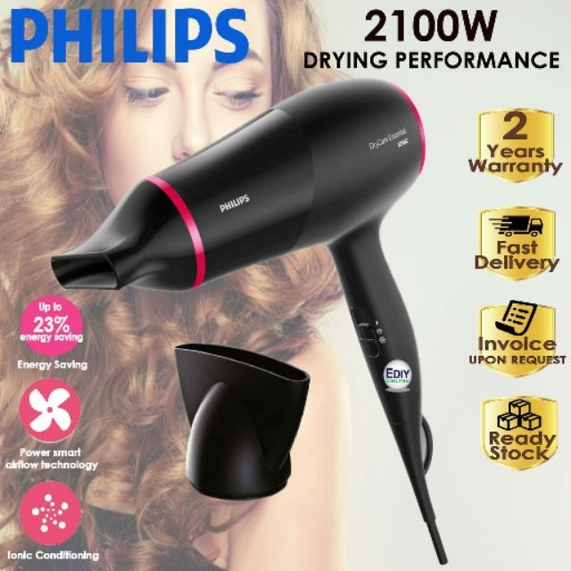 Philips Drycare Essential Energy Hair Dryer BHD029