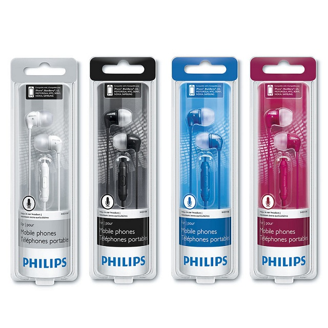 PHILIPS DYNAMIC BASS WIRED EARPHONE (end 7/4/2016 12:00 AM)