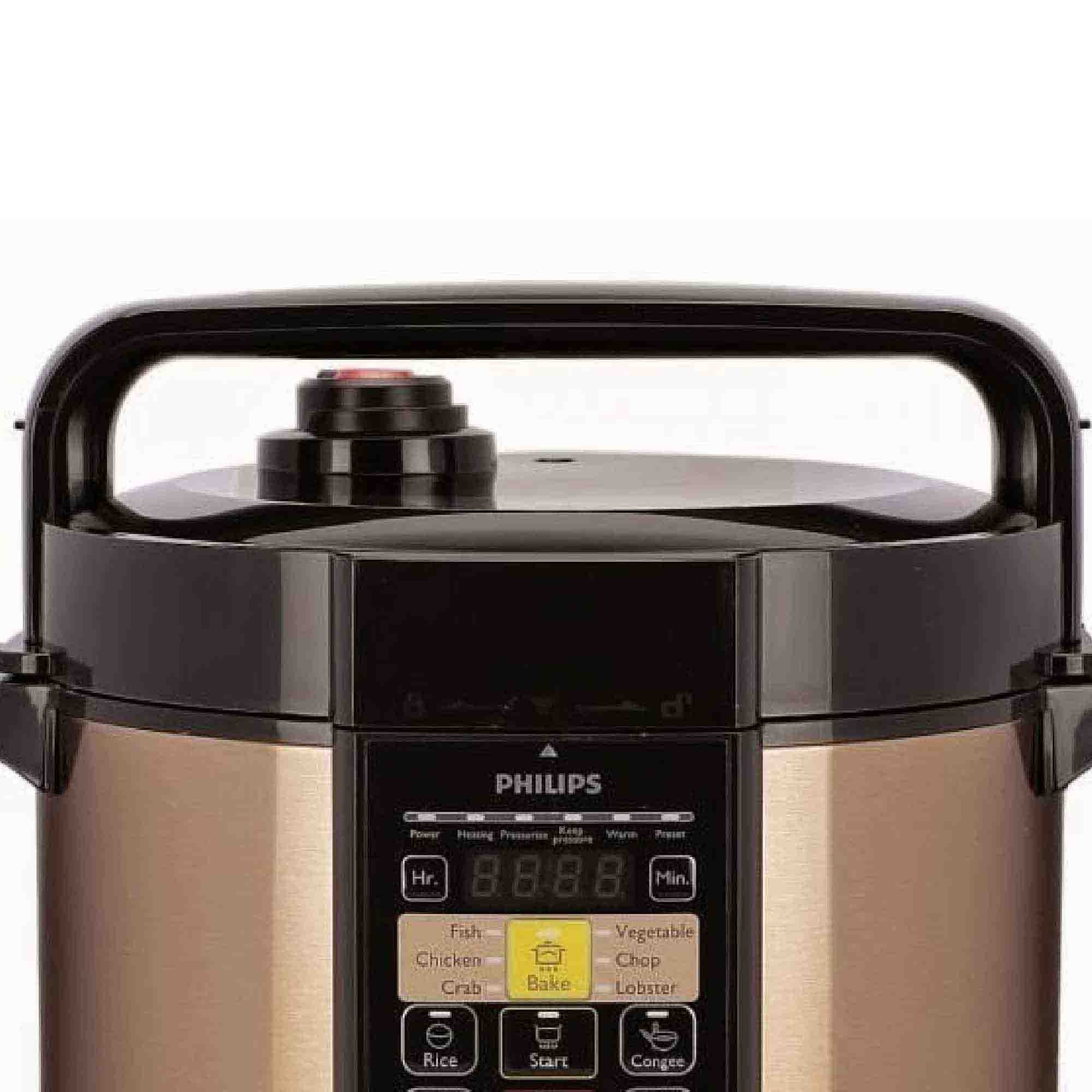 Philips Electric Pressure Cooker HD2139 (6.0L) 14 Cooking Menus