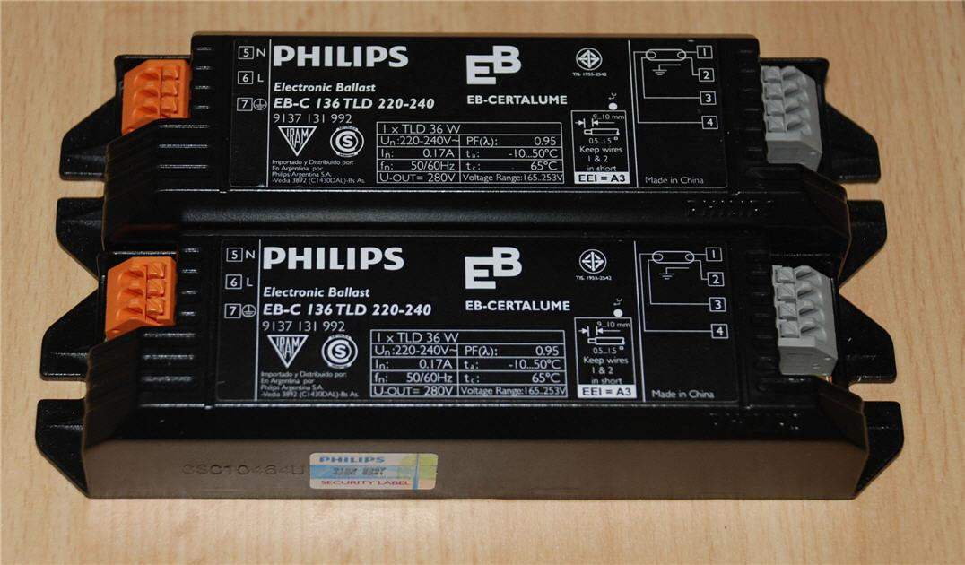 New Philips Electronic Ballast for 36W Fluorescent Lamp