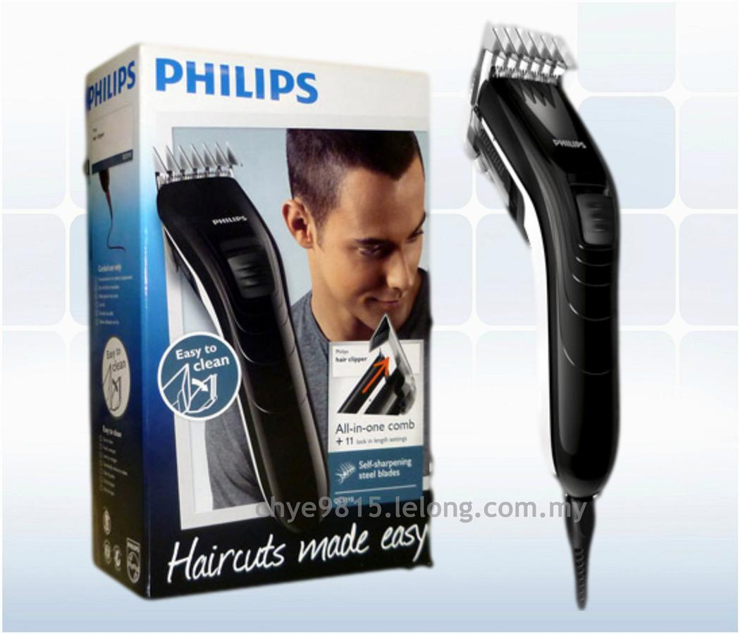 Philips Hair Clipper QC5115 With Adjustable Comb 100% Original. ‹ › b8ace82c25