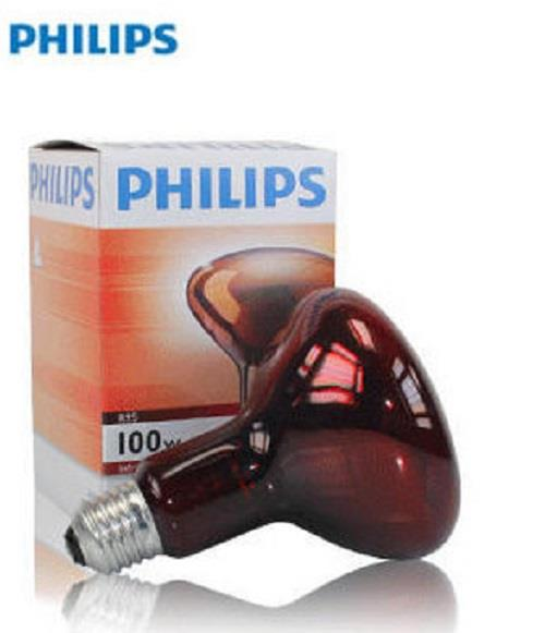 Philips Infrared Light Therapy Lamp  100 Watts, E27R95
