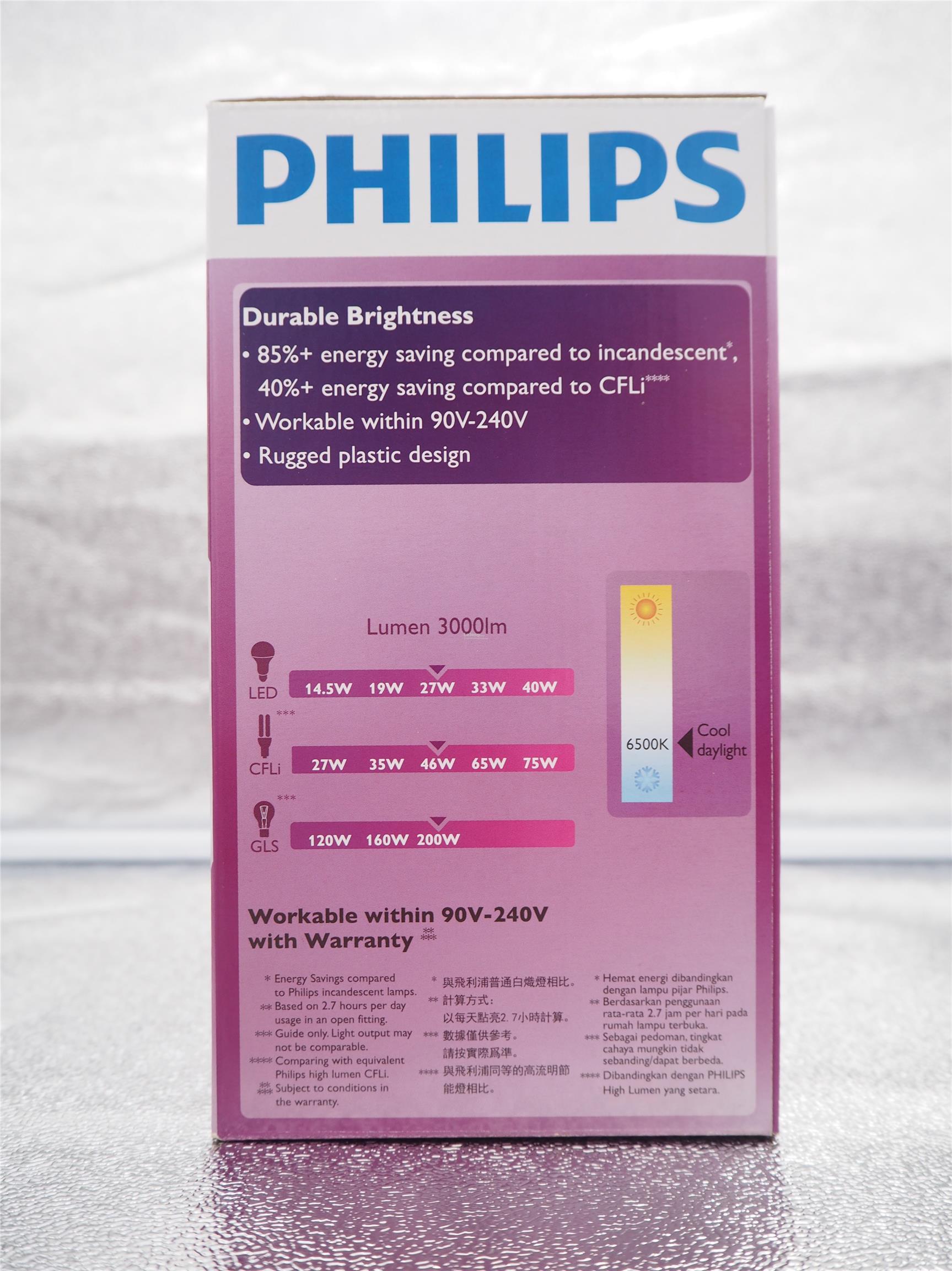 PHILIPS LED HIGH BAY BULB 27W