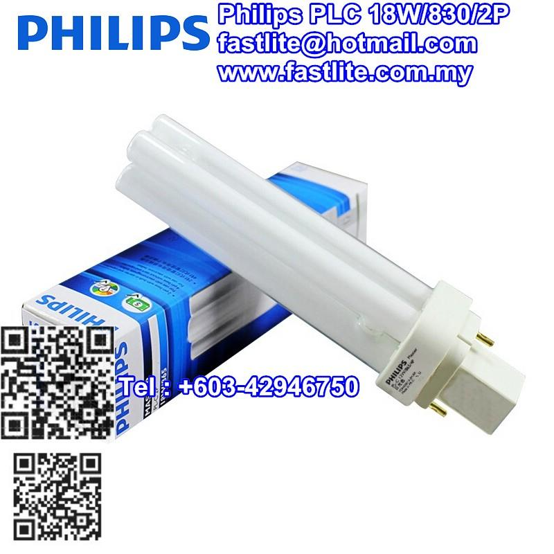 Philips PLC 18W/830/2P (50 pcs pack)