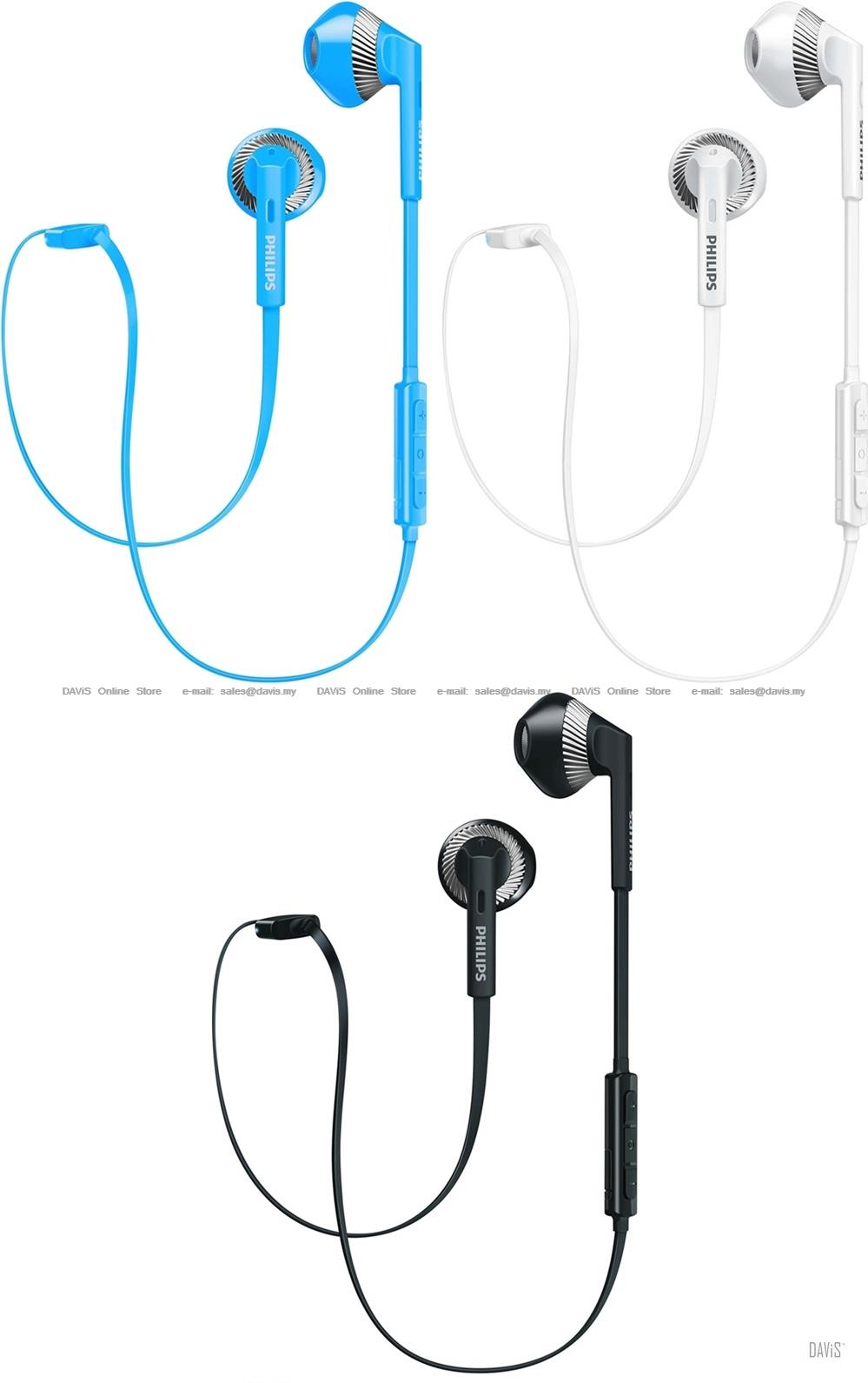 Philips shb5250bk wireless bluetooth headset with mic