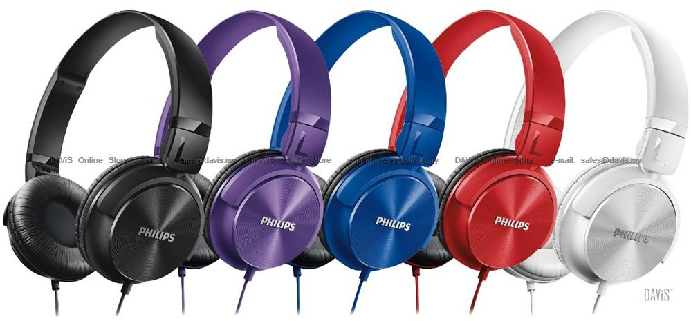Philips SHL3060 Headband Headphones . Clear Powerful Bass . DJ Style