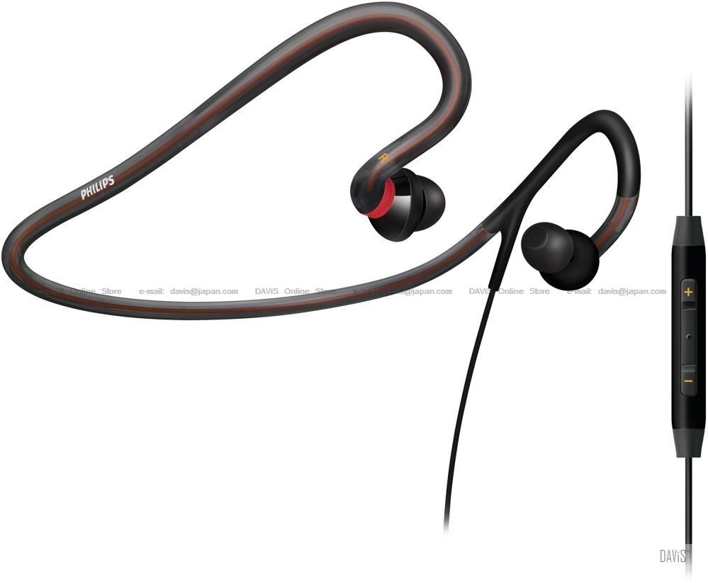 brand new 6df79 26454 Philips SHQ4017 Neckband Headset . iPhone remote mic . Waterproof