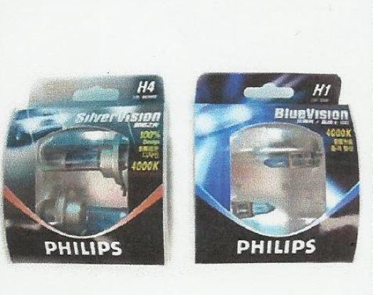 PHILIPS SILVER VISION BLUE VISION 4000K
