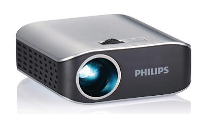 PHILIPS USB POCKET PROJECTOR FOR NB 55 LUMENS PICOPIX PPX 2055