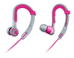 PHILIPS WIRED ACTION FIT EARPHONE SHQ3300PK/00 (PINK)