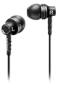 PHILIPS WIRED PRECISION SOUND EARPHONE SHE9100 (BLACK)