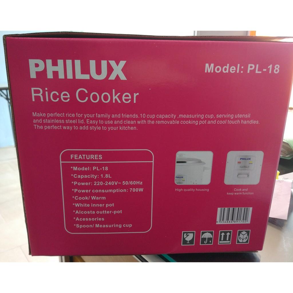 Philux Rice Cooker 1 8L PL-18
